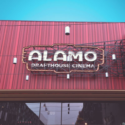 Alamo Drafthouse Theater in Austin, TX.